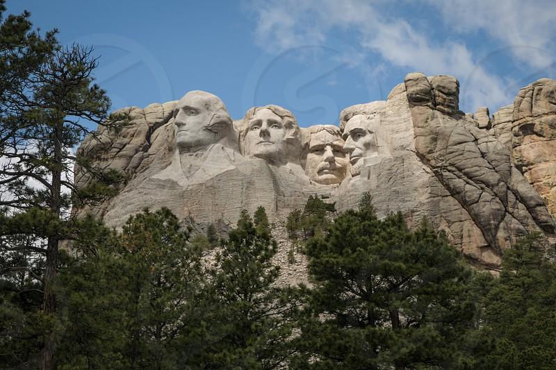 Mount Rushmore National Memorial near Rapid City South Dakota. photo