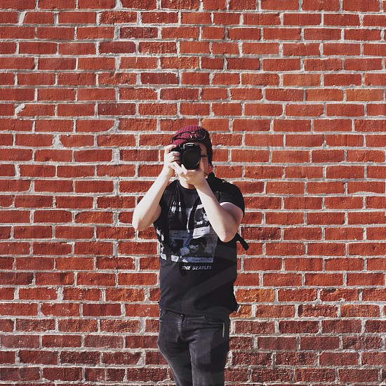 black short sleeve shirt photo