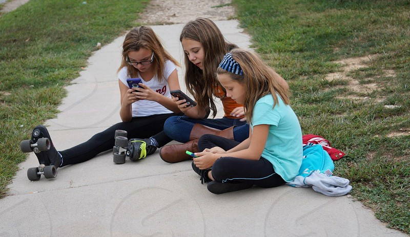 Youth today cell phones photo