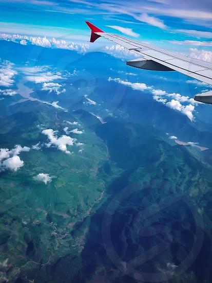Above Hanoi..  photo
