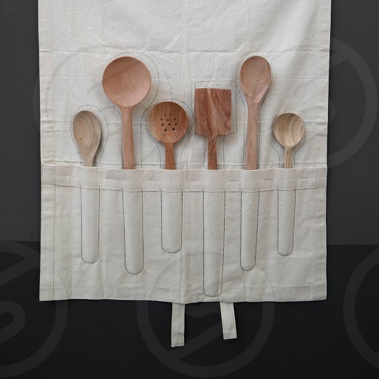wooden spoons rustic photo
