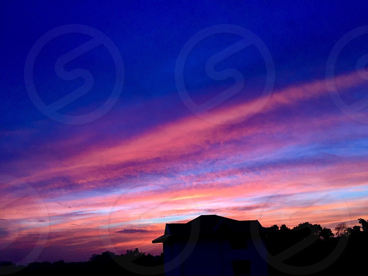 coral sky photo