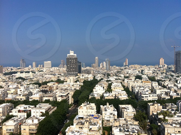 Middle East Tel Aviv cityscape Israel photo