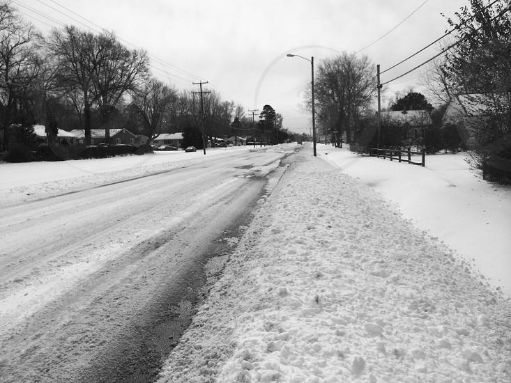 The harsh Winter in VA 2013 photo