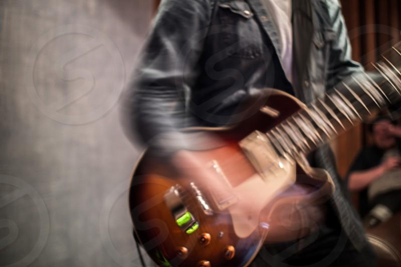 Guitar Blur photo