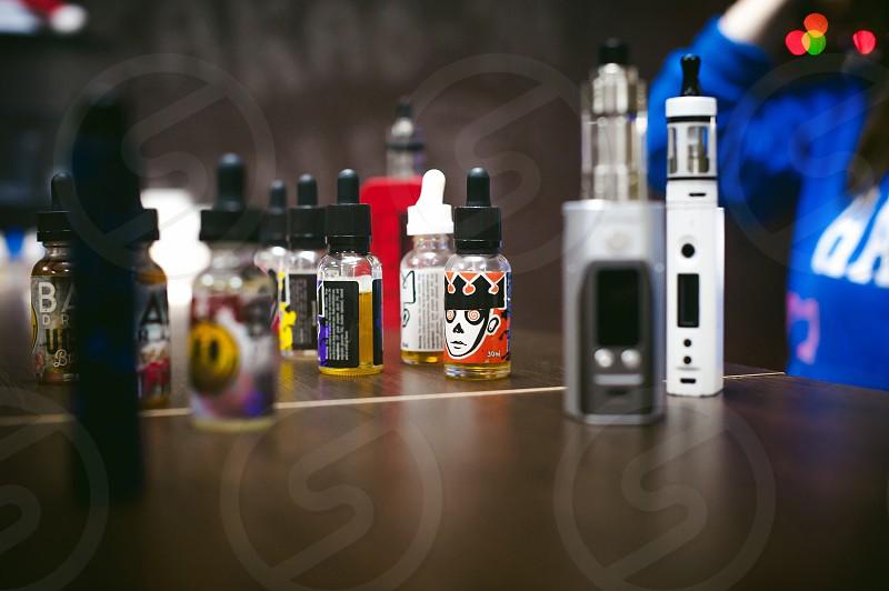 vape shop shop smoking electronic cigarette photo