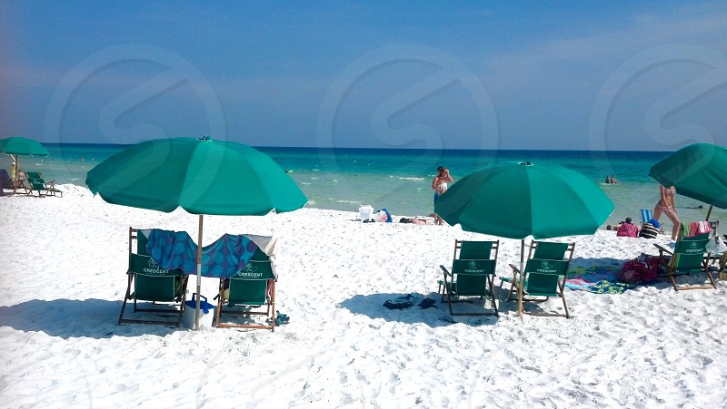 Beach reason to travel Myrtle Beach South Carolina umbrellas  photo