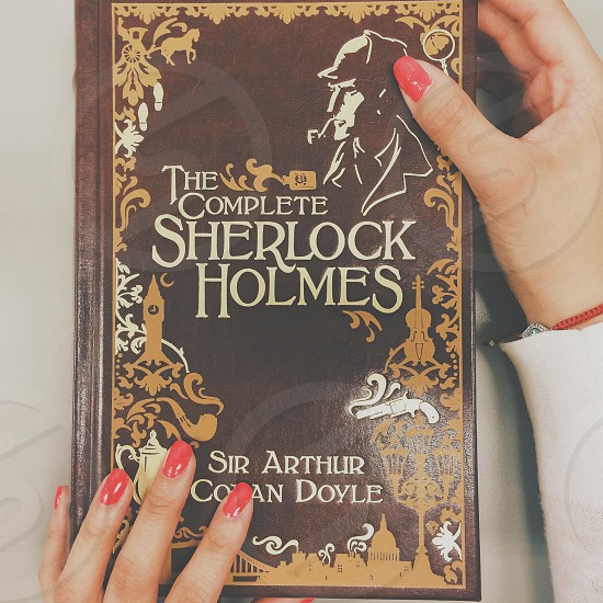 the complete sherlock holmes by sir arthur book photo