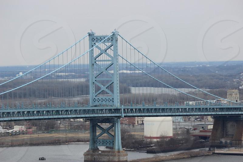 Benjamin Franklin Bridge - Philadelphia PA photo