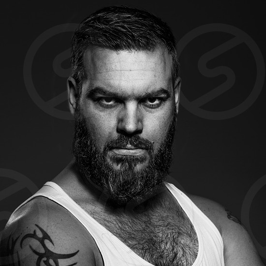 My bearded brother photo