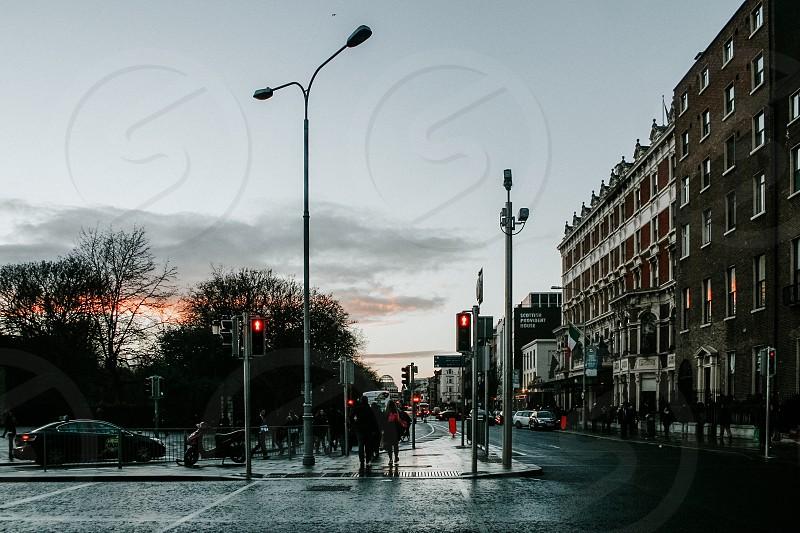 Urban shot taken in Dublin Ireland. photo