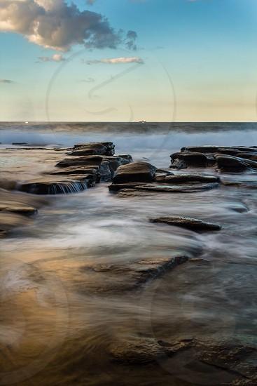 A scenic seascape photo