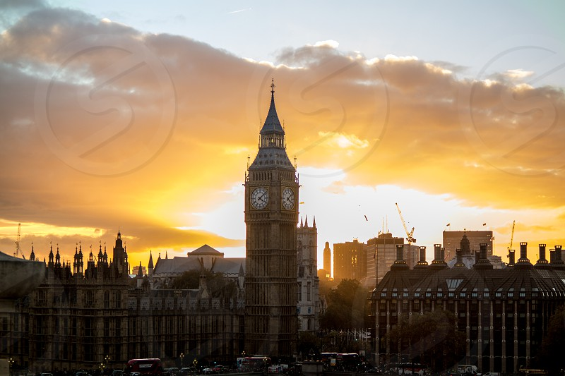 Elizabeth's tower london paris photo