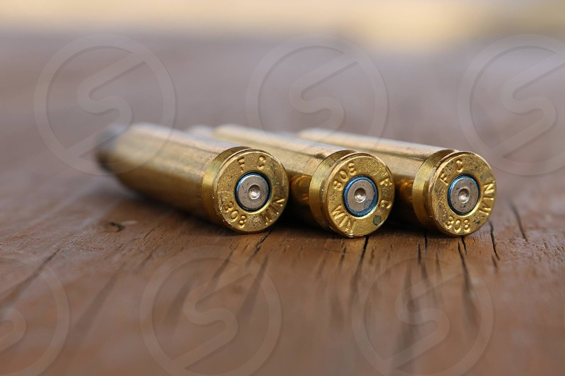 brass rifle bullet photo