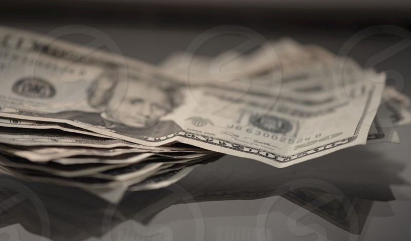 20 us dollar bill photo