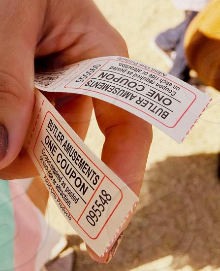 Fair tickets photo