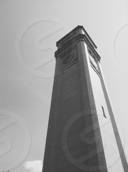 Clock tower downtown spokane photo