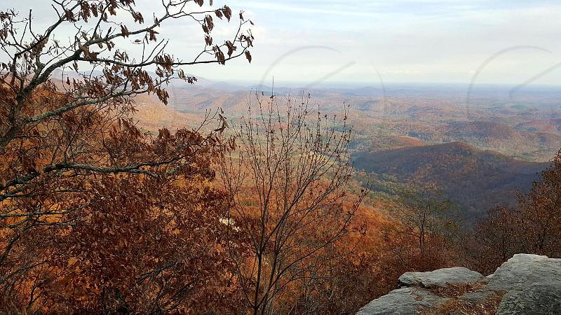 Blue Ridge Mountains SC. photo