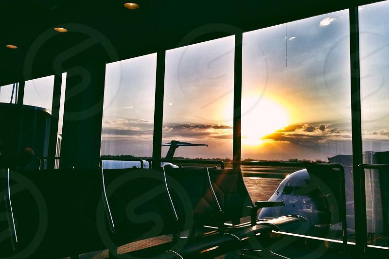 Milwaukee Wisconsin General Mitchell Airport Hawaii Adventure Travel Sunrise photo
