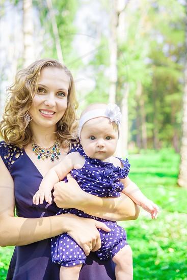 Stylish Mother & child photo