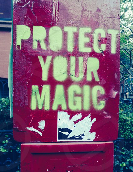 Protect Your Magic Street Art photo
