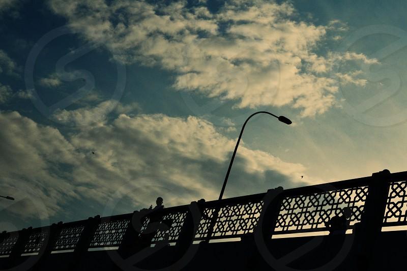Galata Bridge Istanbul photo
