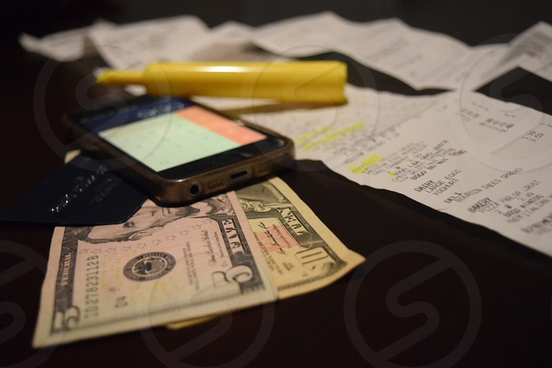 Money management personal finance  photo