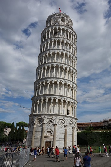 Leaning tower of Pisa Italy... photo