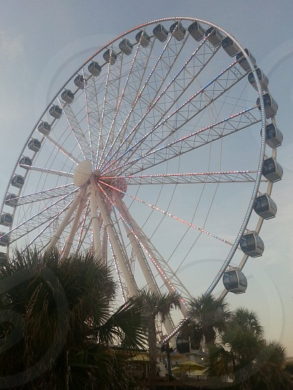 ferris wheel myrtle beach skywheel photo