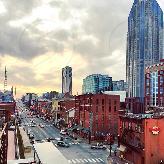 Nashville city life skyscape Tennessee  photo