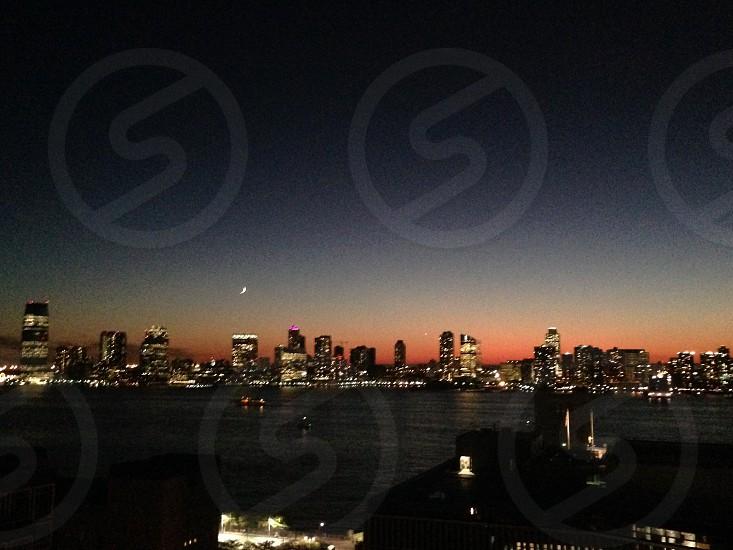 Hotel Hugo New Jersey skyline from New York photo