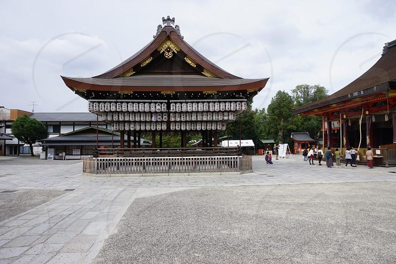 Yasaka Shrine - Kyoto Japan photo