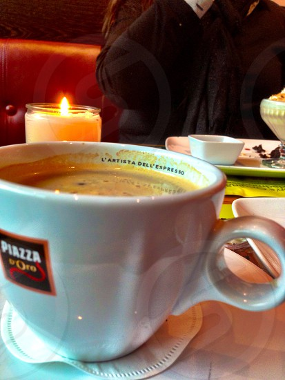 Coffee espresso cup restaurant good delicious  photo