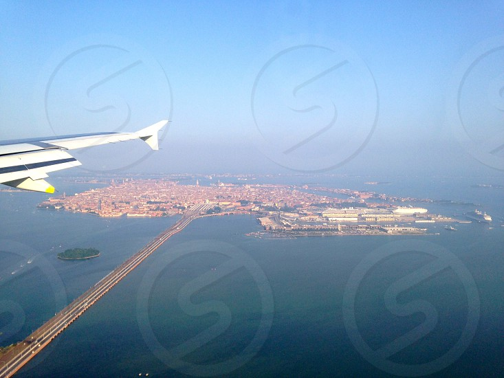 Venice from above photo