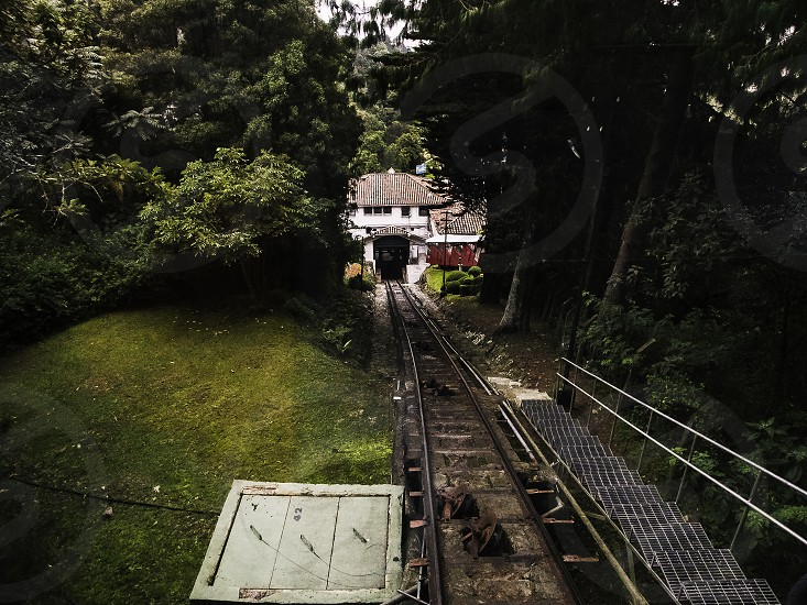 Monserrate`s railroad. photo