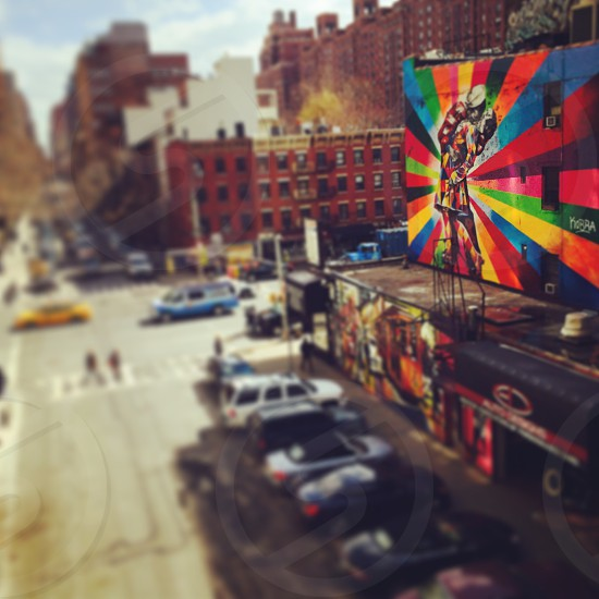 View from the High Line New York USA photo