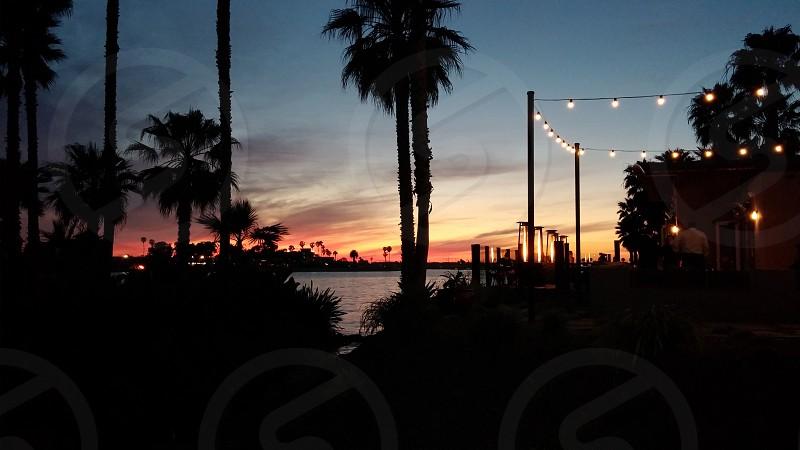 San Diego sunset photo
