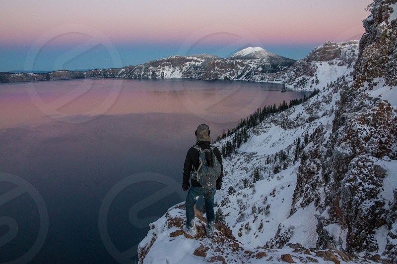 Crater Lake OR photo