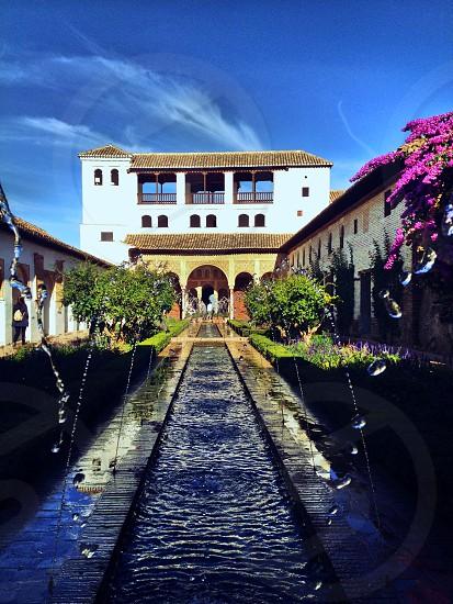 Alhambra in Granada Spain photo