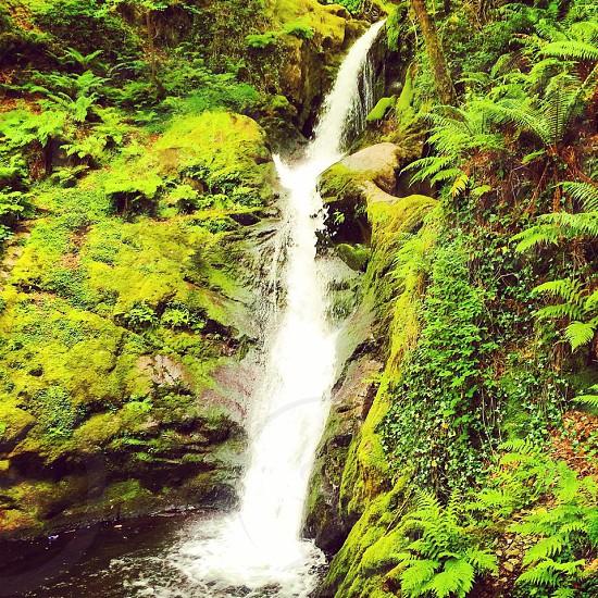 Waterfall Wales UK photo