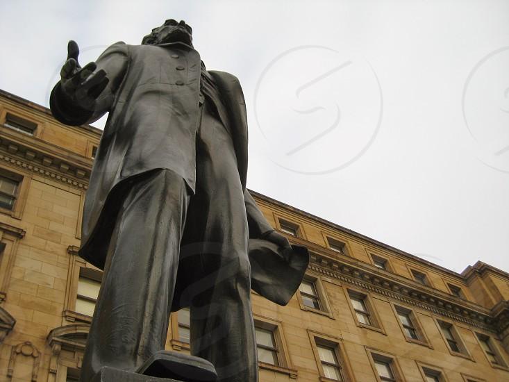 stone statue  photo