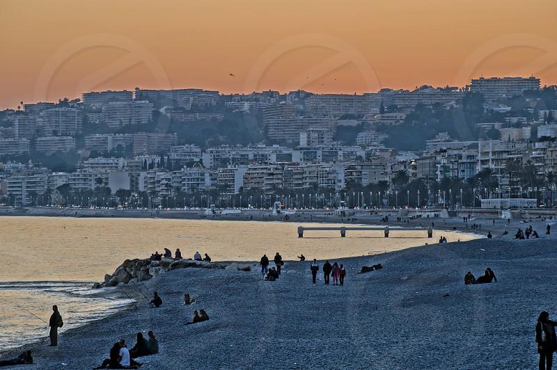 Promenade des Anglais - Nice France photo