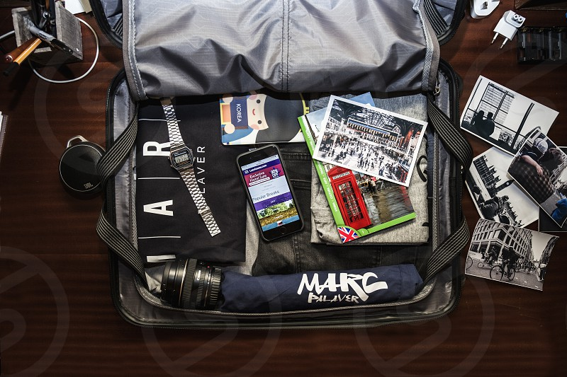 Suitcase ready for Travel photo