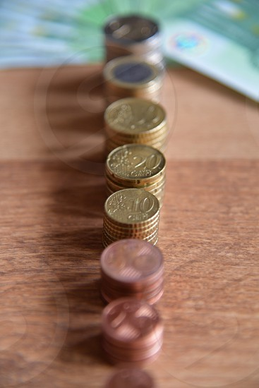 Euro currency photo