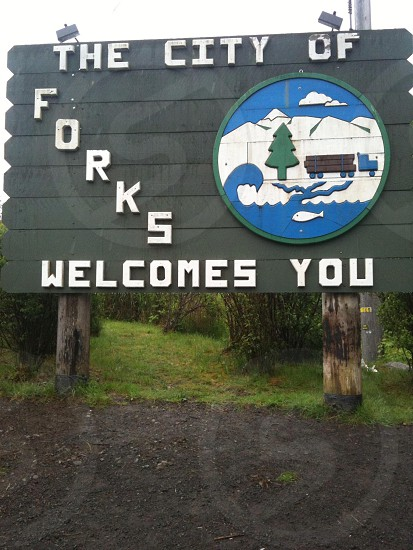 The city of Forks... photo