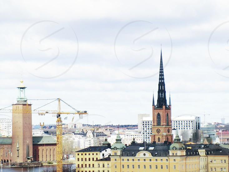 Church Riddarholmskyrkan  Stockholm  Sweden  photo