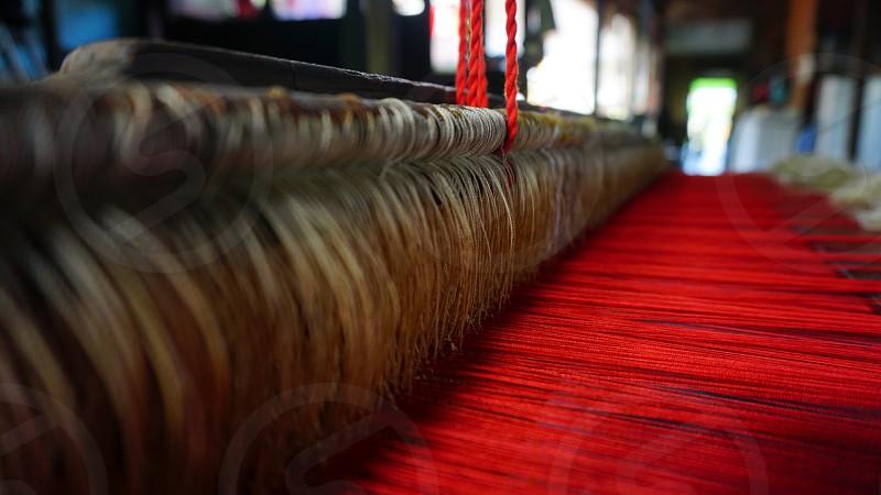 Culture tenun sambas photo