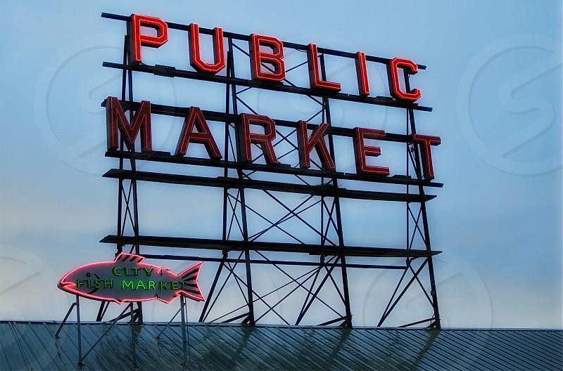 Public Market - Seattle WA photo