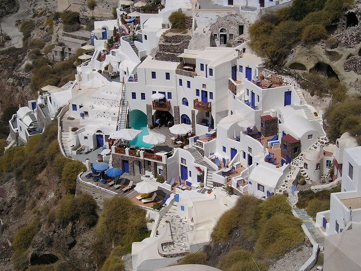 Santo rink Greece photo