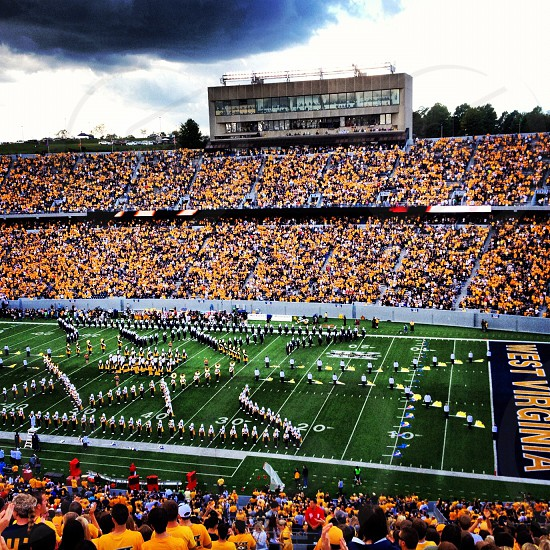 West Virginia home game photo